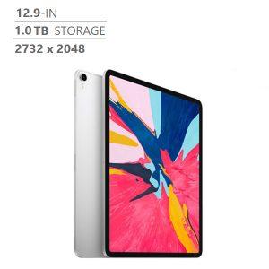 Brand New Apple (MTFT2VC/A) iPad Pro 12.9 in. 1 TB Wi-Fi, A12X Bionic Chip, Silver
