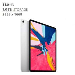Brand New Apple iPad Pro MTXW2VC/A 11 in. 1 TB Wi-Fi, A12X Bionic Chip, Silver