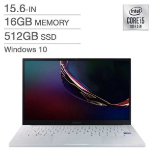 Samsung Galaxy Book Ion NP950XCJ Laptop, 10th Gen. i5-10210U